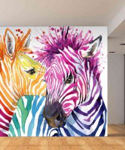 3D Wallpaper Animals Zebra