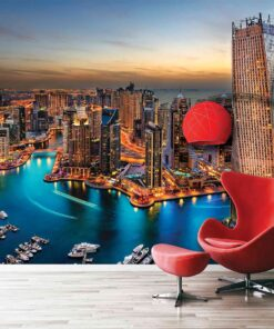 3D Wallpaper Landmarks Dubai UAE Towers