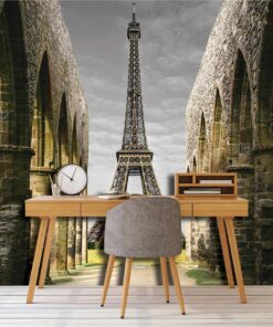 3D Wallpaper Landmarks Eiffel Tower Paris France