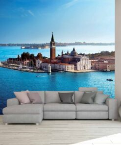 3D Wallpaper Landmarks Venice Italy